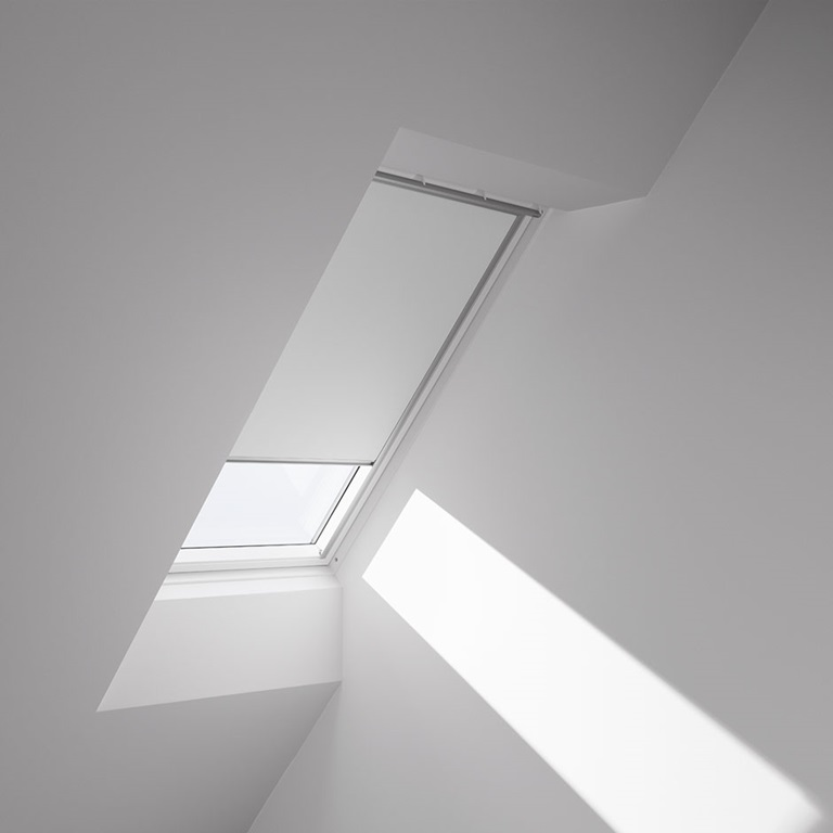 Velux electric opening skylight for Velux window shades