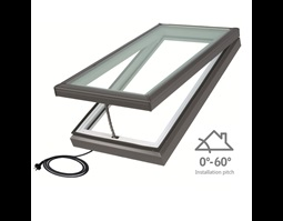 Low Pitch Electric Skylight