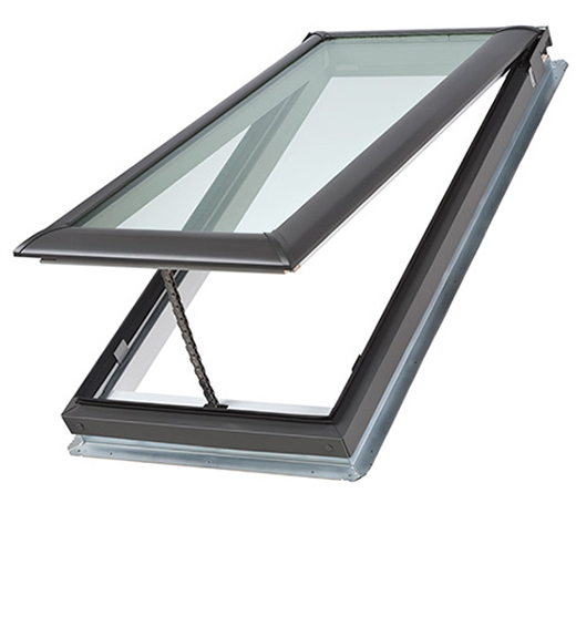 Velux skylights low pitch skylights roof windows sun for Velux fresh air skylight